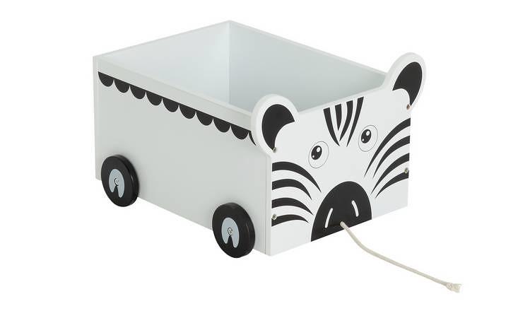 Argos Home Zebra Toy Storage Buggy.