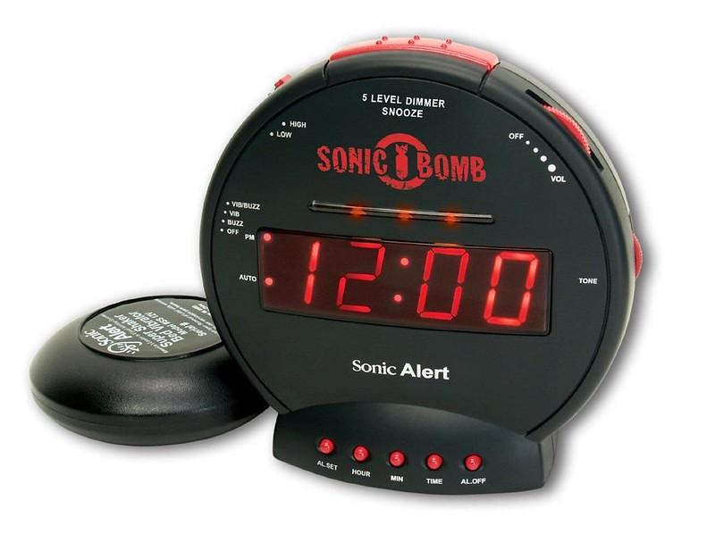 Geemarc Sonic Bomb Junior Alarm Clock With Bed Shaker.