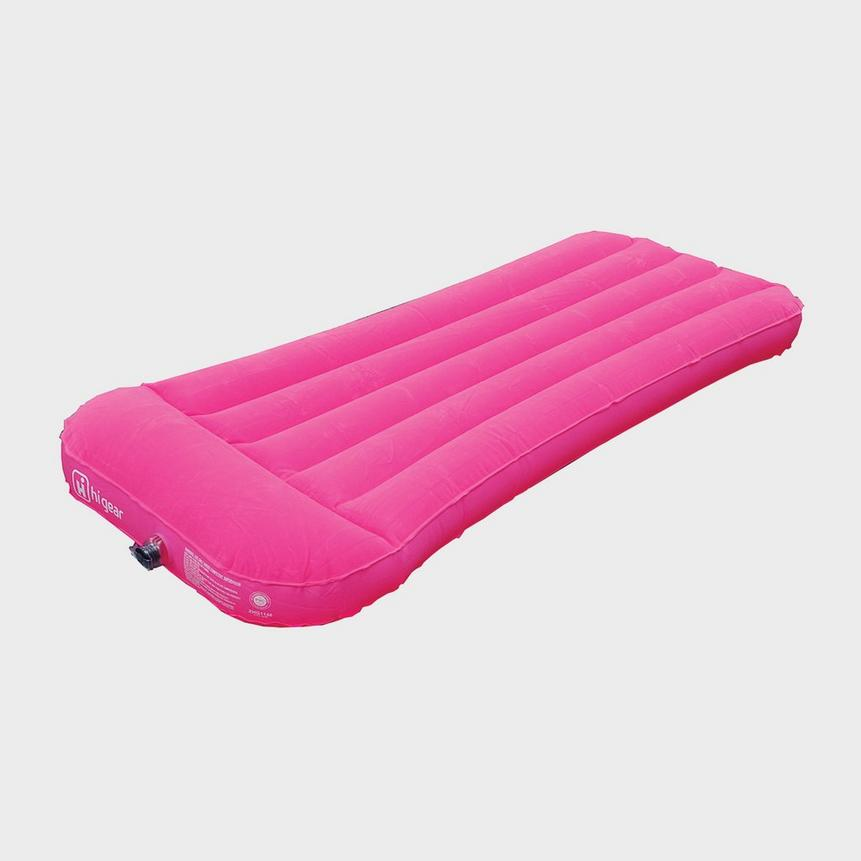 Hi-Gear Children's Pink Flock Airbed.