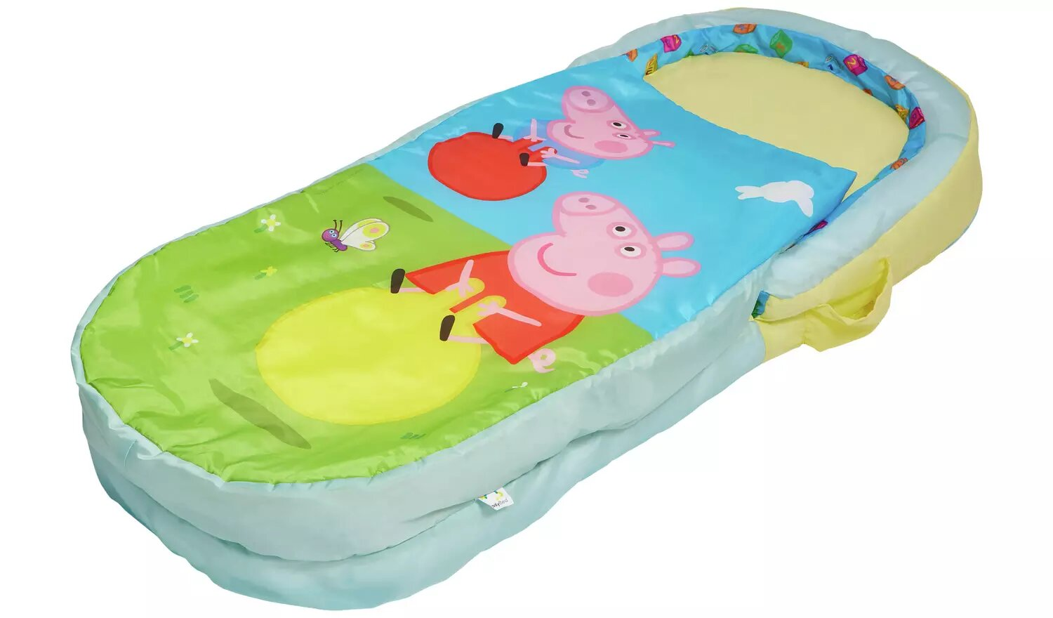 Peppa Pig My First Readybed Air Bed And Sleeping Bag.