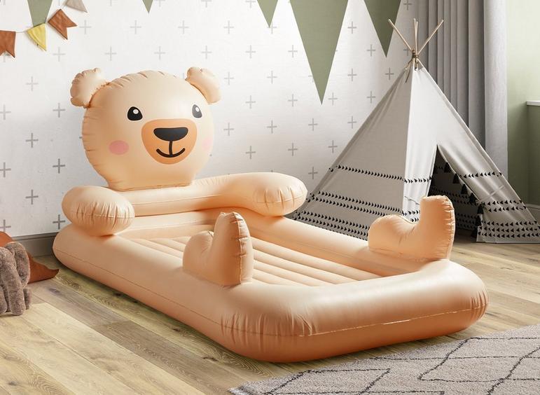 Bestway Kids Air Bed Teddy Bear.
