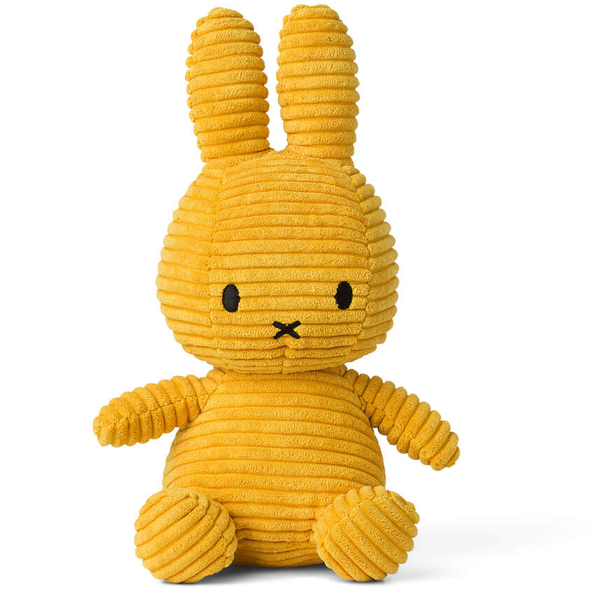 Sitting Corduroy - Yellow, Miffy