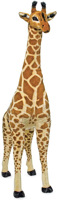 Giant Giraffe-Lifelike Stuffed Animal, Melissa & Doug