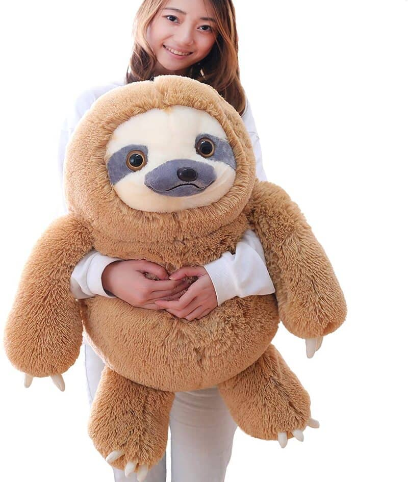 Fluffy Giant Toy Sloth, Winsterch