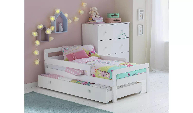 Argos Home Ellis Toddler Bed Frame With Storage.