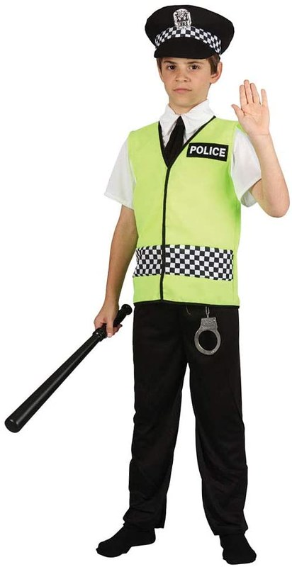 Wicked Costumes Kids Police Fancy Dress