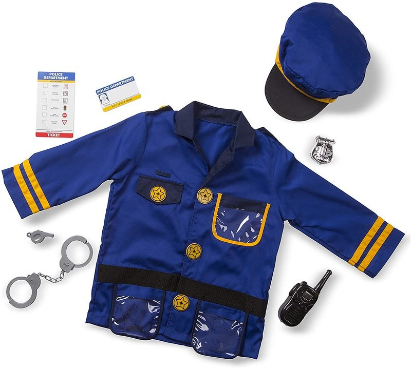 Melissa And Doug Police Officer Role Play Set