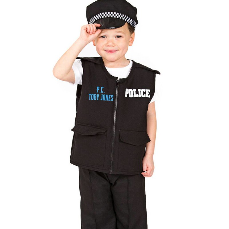 Time To Dress Up Personalised Police Outfit