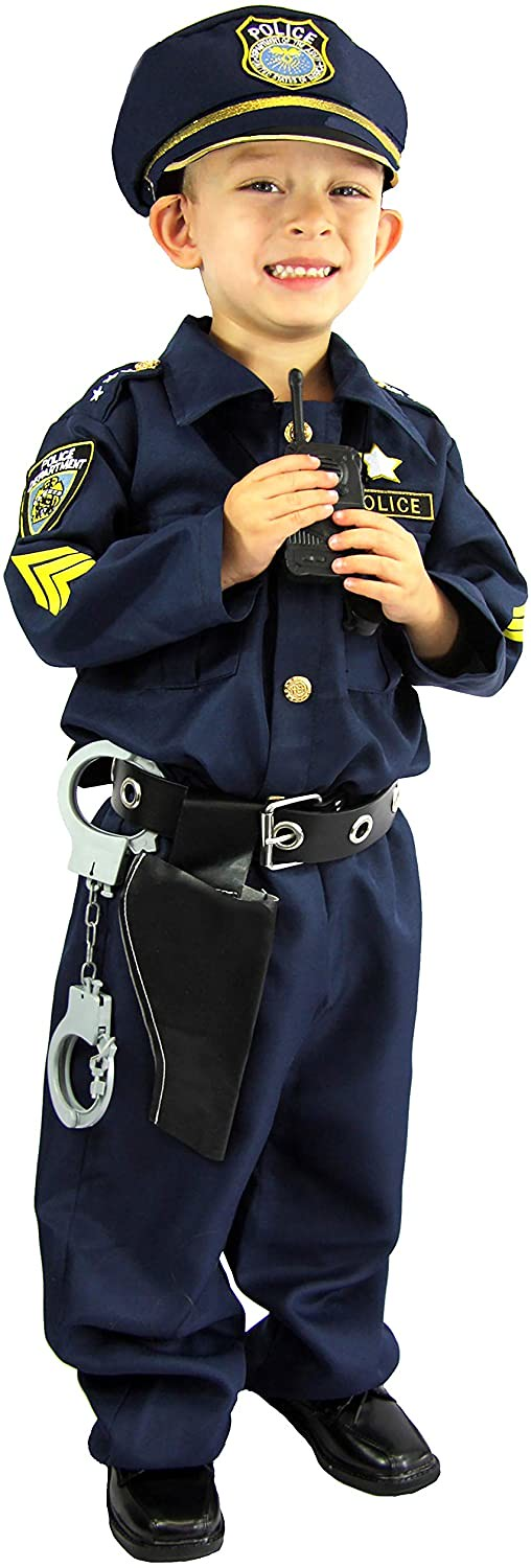 Spooktacular Creations Deluxe Police Dress Up Costume