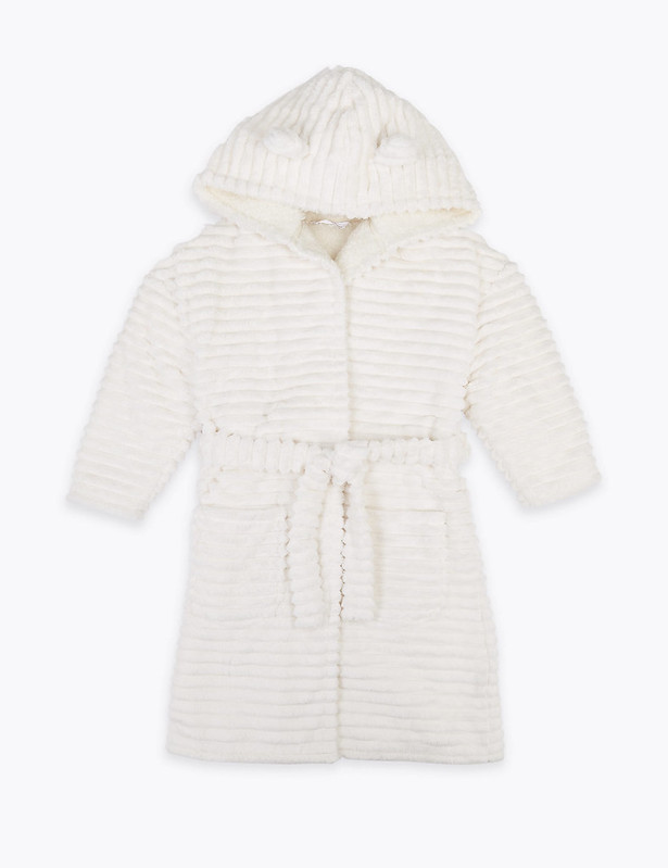 M&S Carved Bear Dressing Gown.