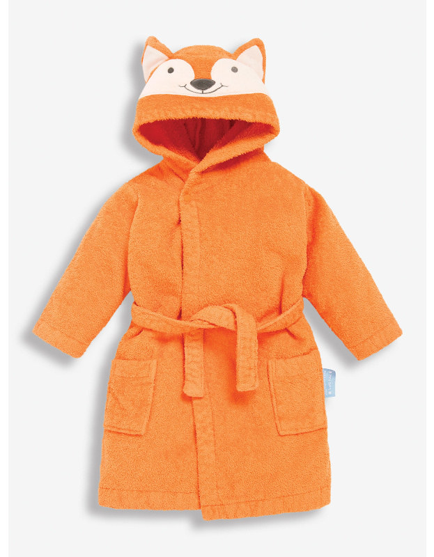 JoJo Maman Bebe Fox Towelling Dressing Gown.