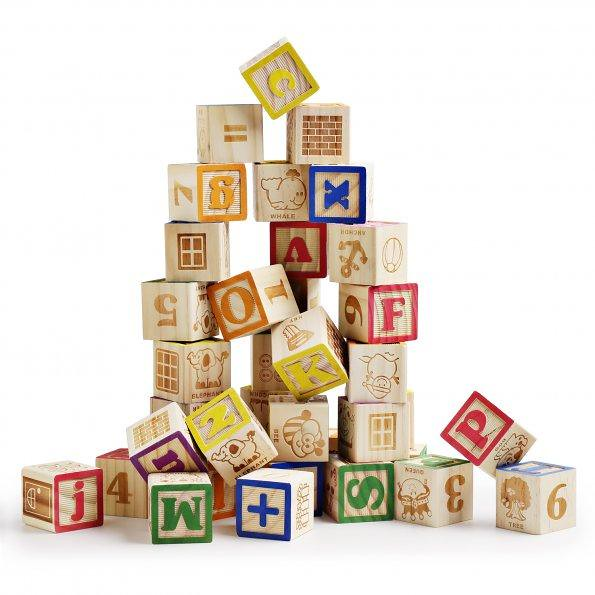 SainSmart Jr. Wooden ABC Blocks