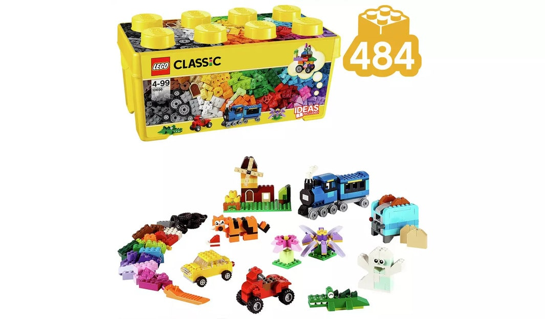 LEGO Classic Medium Creative Brick Box Building Set
