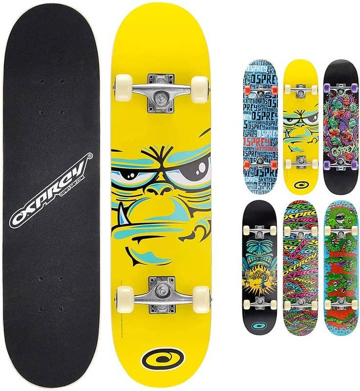 Osprey Double Kick Kids' Skateboard