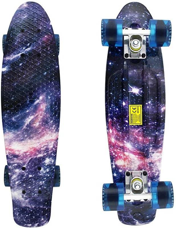 Meketec Mini Cruiser Skateboard