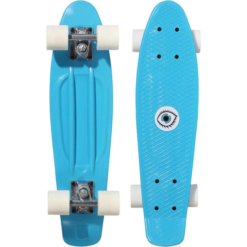 Oxelo Kids' Mini Plastic Skateboard
