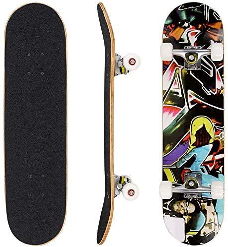 We Skate Maple Wood Complete Skateboard