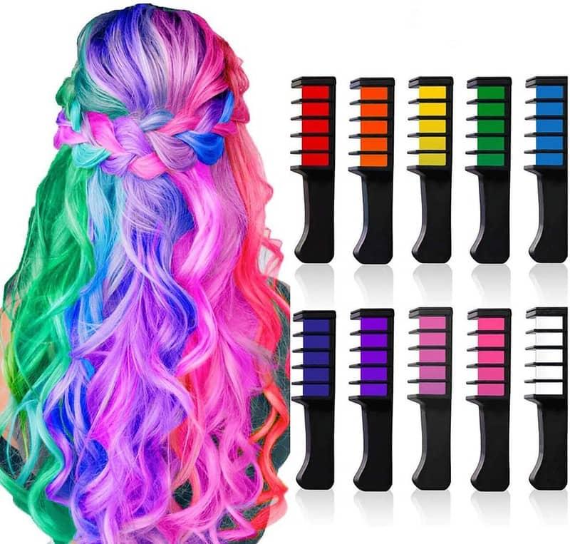 BAKAM Hair Chalk Comb Set