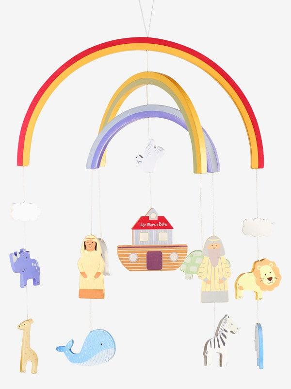 Jojo Maman Bebe Noah's Ark Baby Mobile