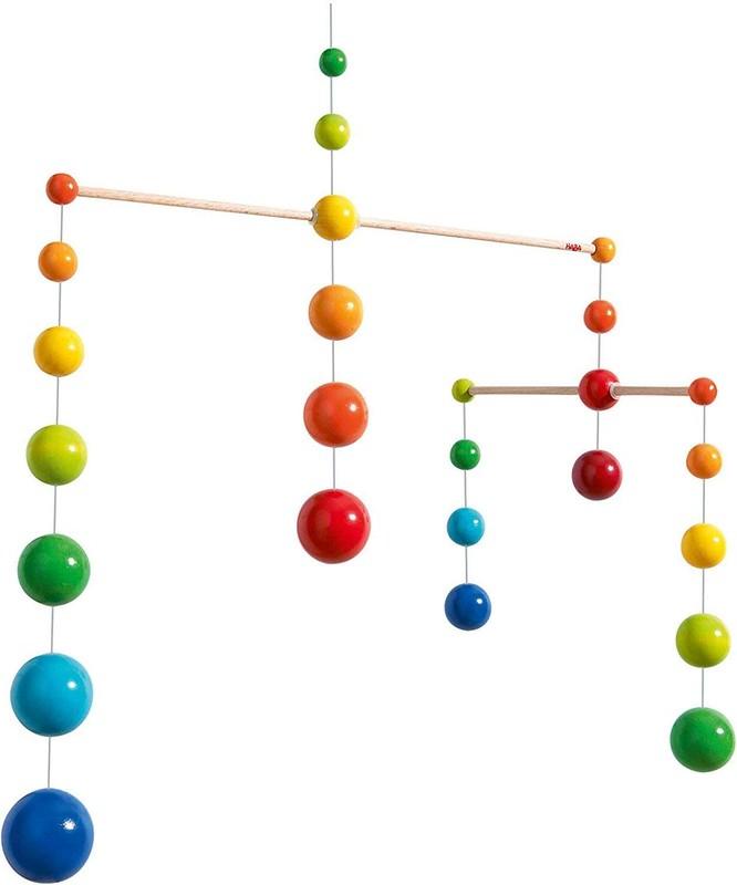 Haba Rainbow Balls Baby Mobile