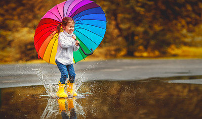 Best Kids' Umbrellas Perfect For A Rainy Day Walk.