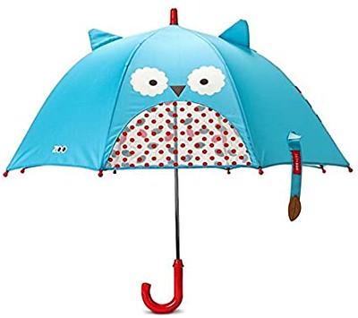 Skip Hop Zoobrella Little Kid Owl Umbrella.