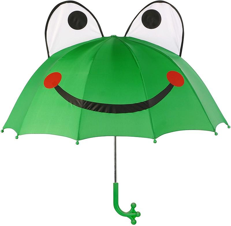Kidorable Green Frog Umbrella.