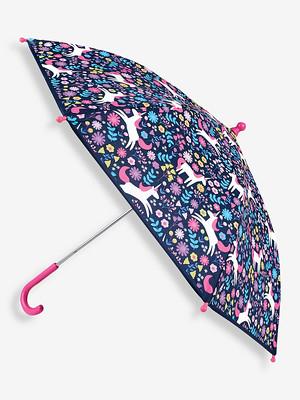 Jojo Maman Bebe Kids' Unicorn Colour Change Umbrella.