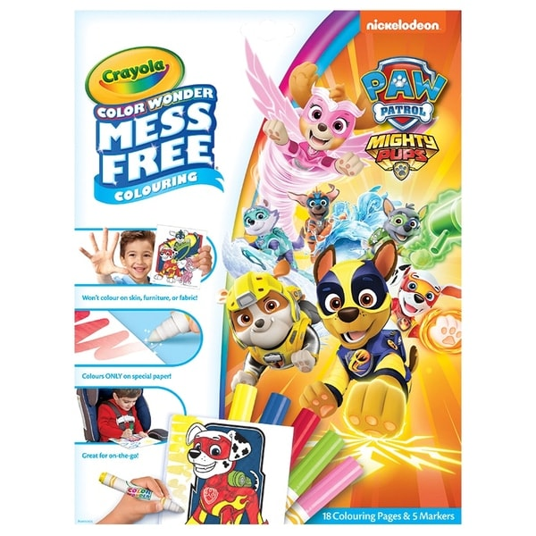 Crayola Colour Wonder Paw Patrol