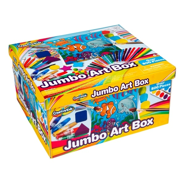 Crayola Jumbo Art Box