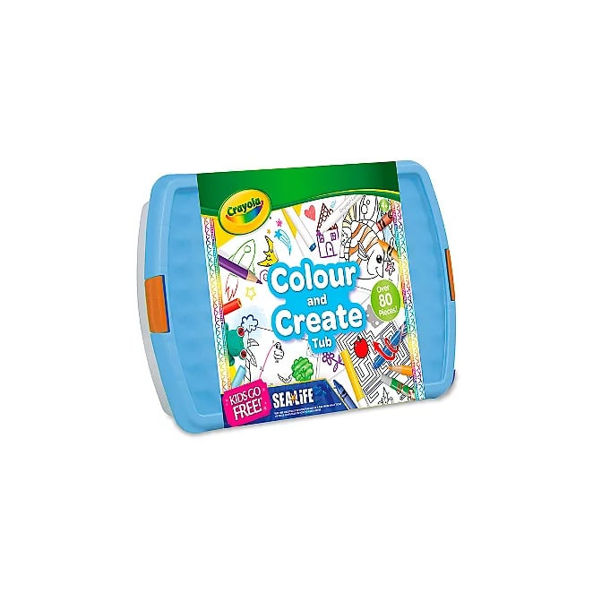 Crayola Colour And Create Tub