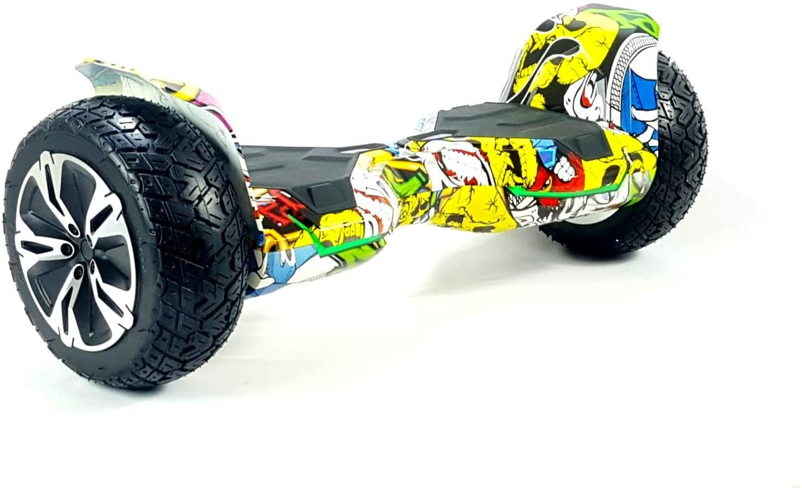 Etech Motion Hip Hop All Terrain Off Road Hoverboard.