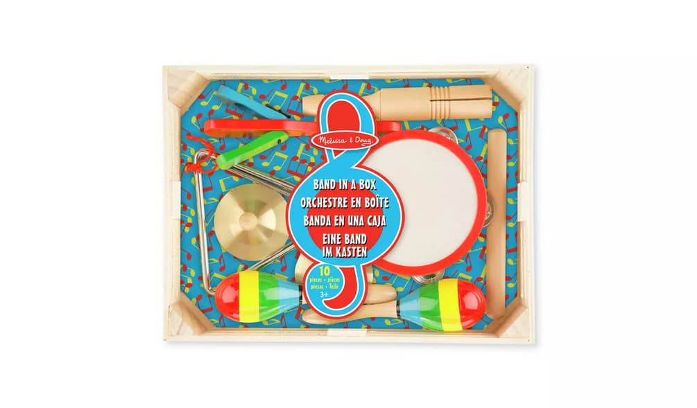 Melissa & Doug Band in a Box Playset