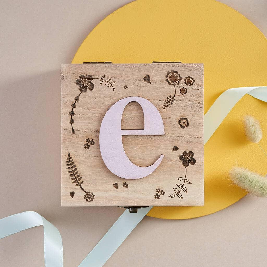 Bombus Personalised Birthday Jewellery Keepsake Box For Her