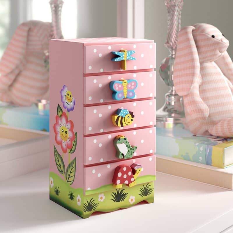 10 Best Girls Jewellery Boxes For Her Prized Possessions Kidadl