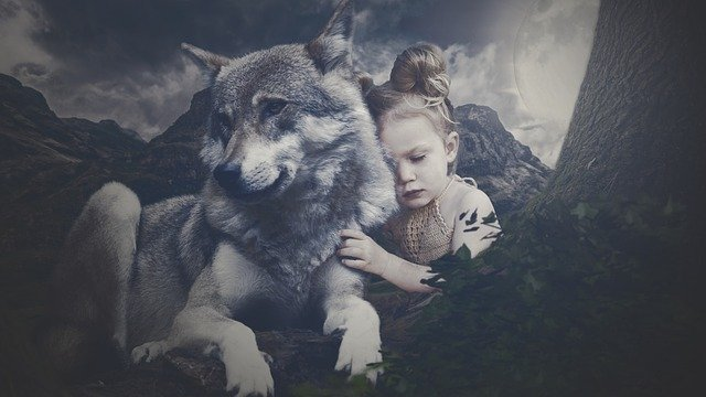 A wolf name can be something with a wolfish meaning or something relating to the night