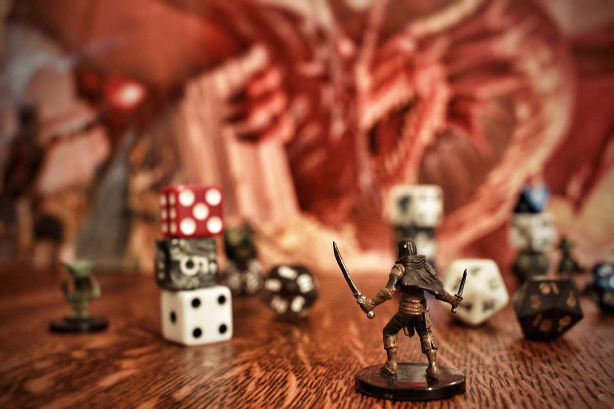 DND is an extremely popular fantasy role-playing game