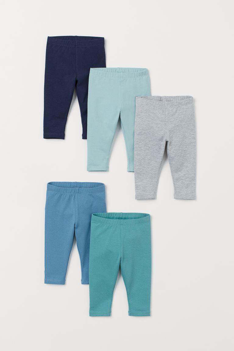 H&M 5-Pack Jersey Leggings.
