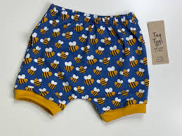 Tag Togs Bee Taggy Bum Shorts.
