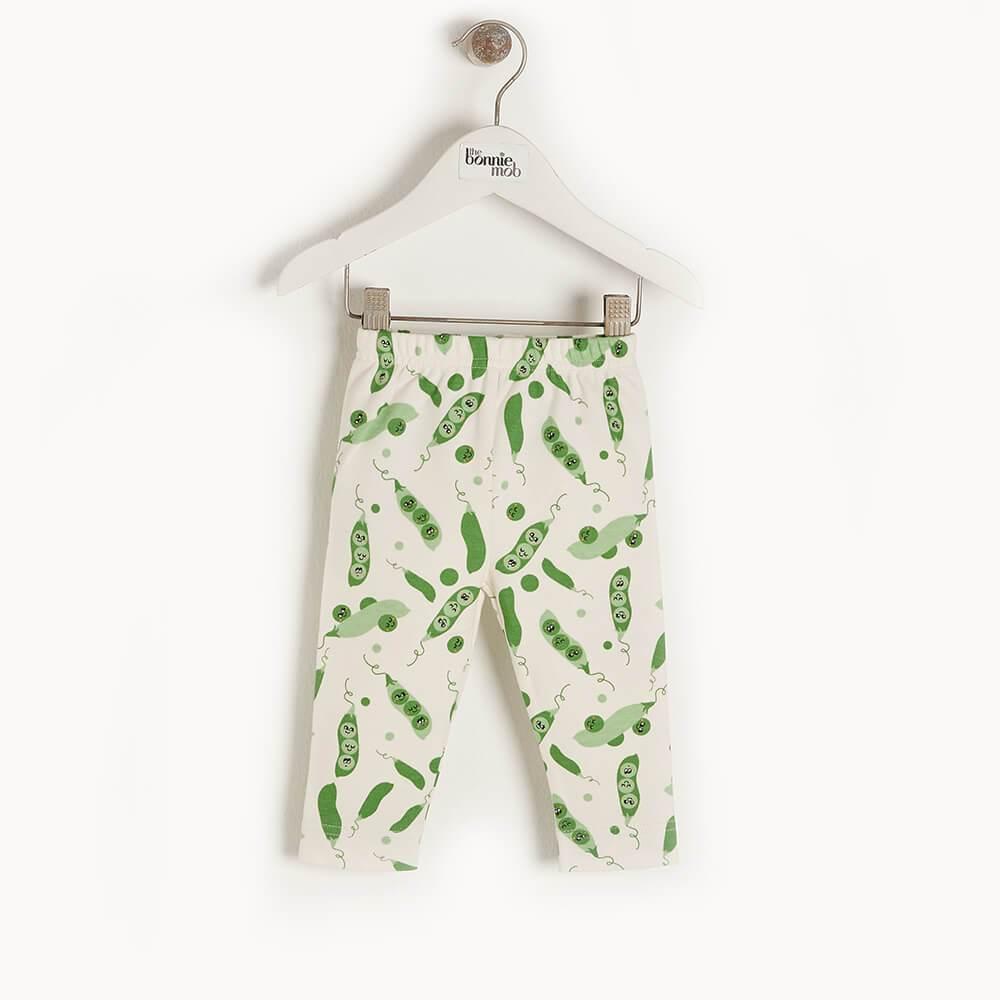 The Bonnie Mob Coppice Organic Baby Leggings.