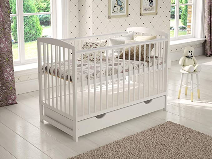 Jacob Wooden Baby Cot.