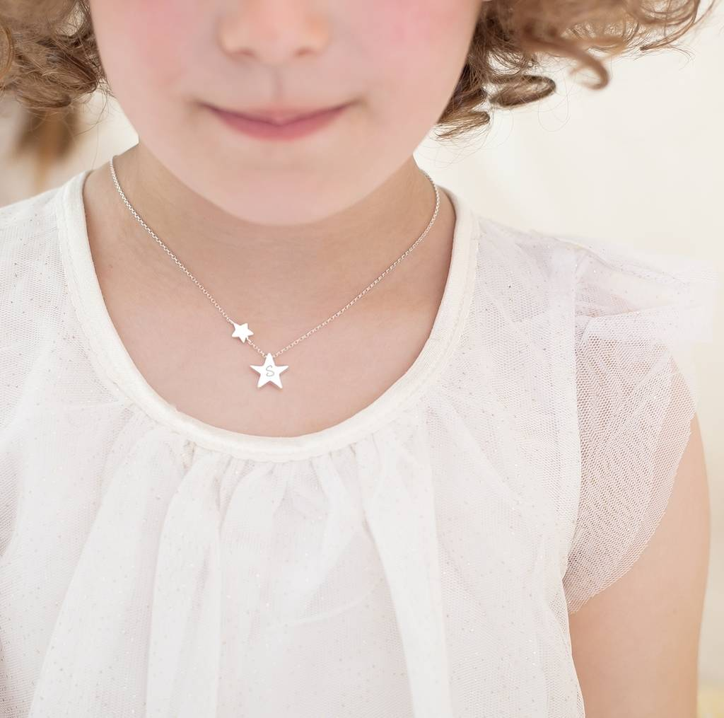 Mini Bloom My Lucky Star Sterling Necklace