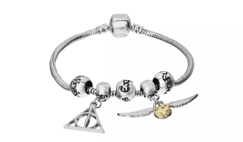 Harry Potter Silver Colour Charm Bracelet