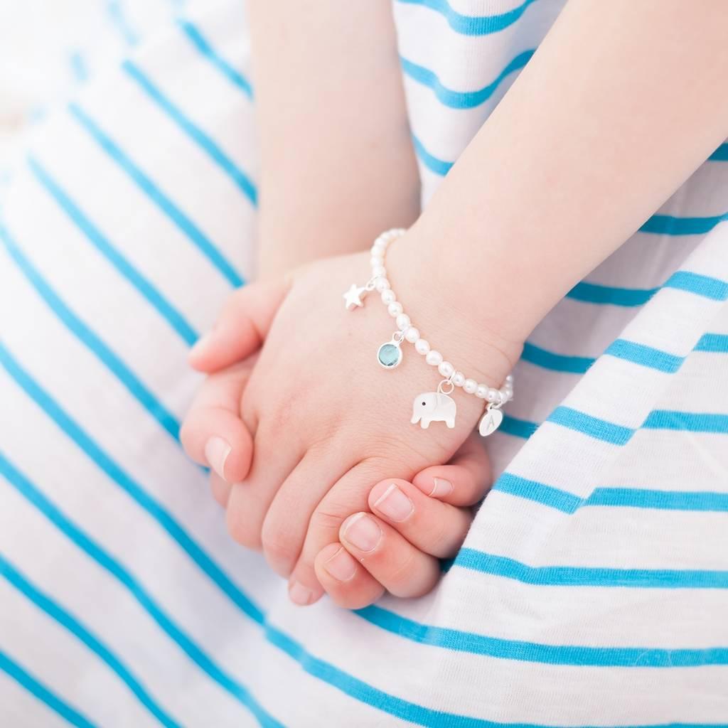 Mini Bloom Create Your Own Personalised Sterling Bracelet