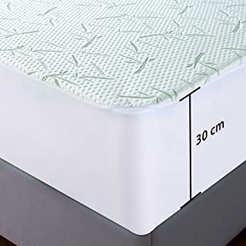 Utopia Bedding Waterproof Bamboo Mattress Protector.