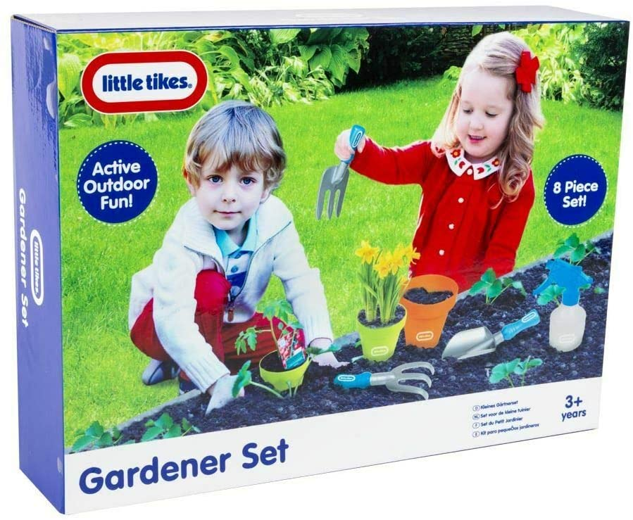 Little Tikes 8 Piece Gardening Tools Set