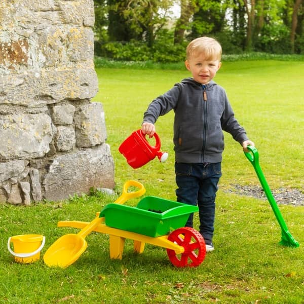 Smyths Wheelbarrow & Garden Set