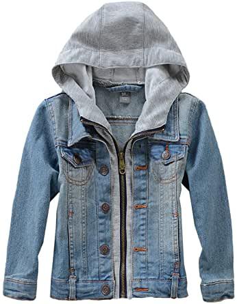 Mallimoda Hooded Denim Jacket.