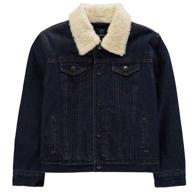 Firetrap Lined Denim Jacket.
