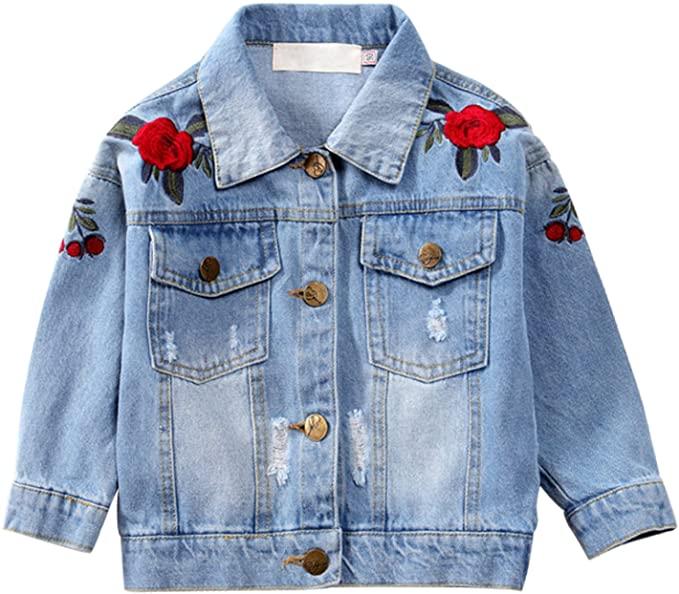 De Feuilles Embroidered Jacket.